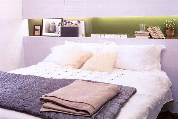 Экодизайн спальной комнаты