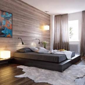 Оформление спальни – фото 752