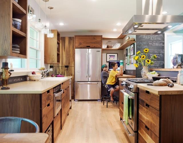 кухня в стиле эко