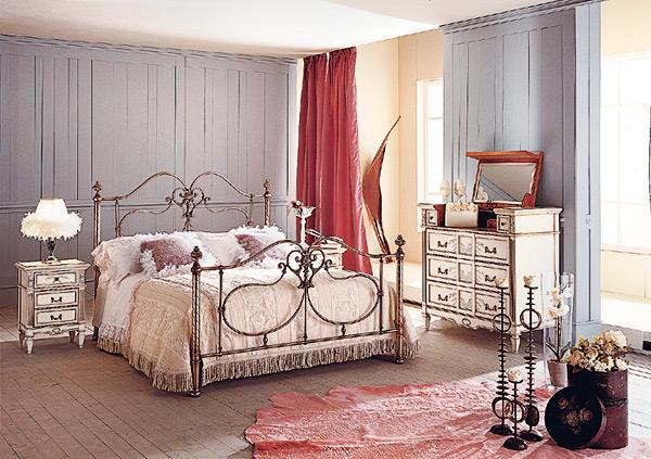Дизайн спальни в стиле франции