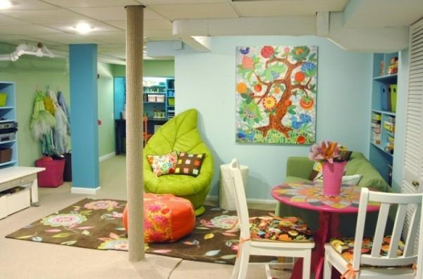 интерьер игровая комната для детей