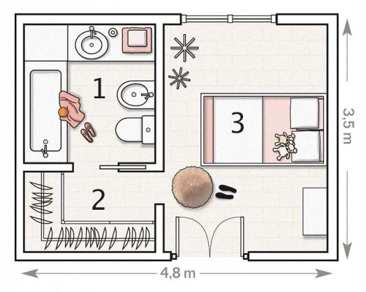 Розовая спальня фото дизайна