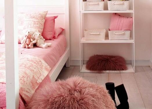 Розовая спальня для маленькой принцессы (4)