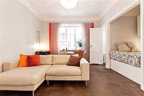 Уютная однокомнатная квартира фото 1