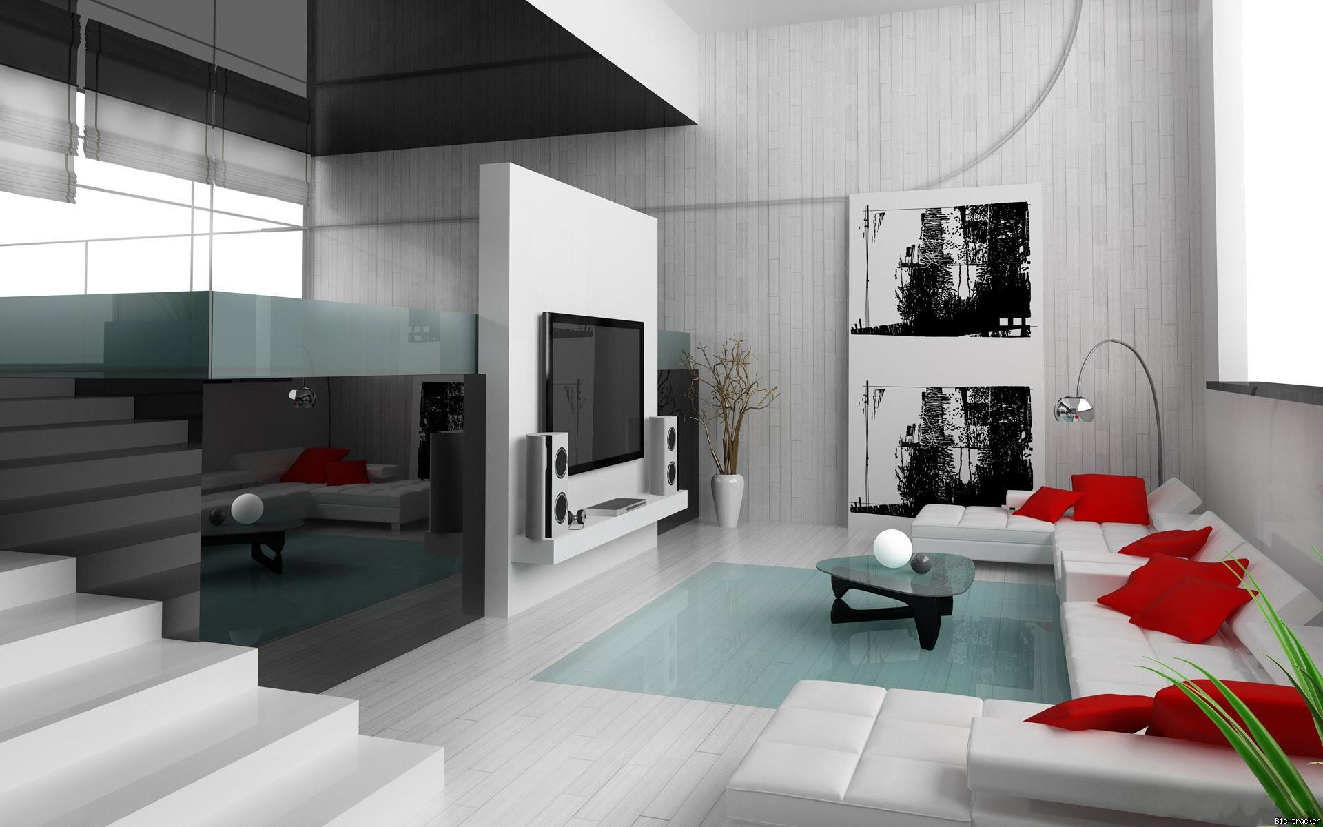 Модные интерьеры домов