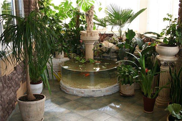 Водопад дома своими руками комнатный 45