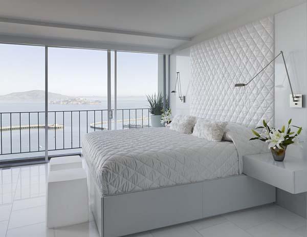 Белоснежная спальня фото