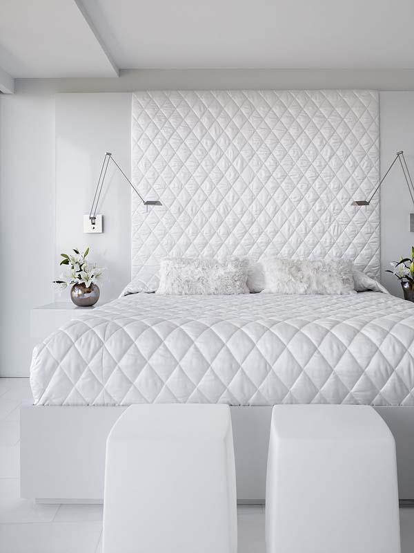 Белоснежная спальня дизайн