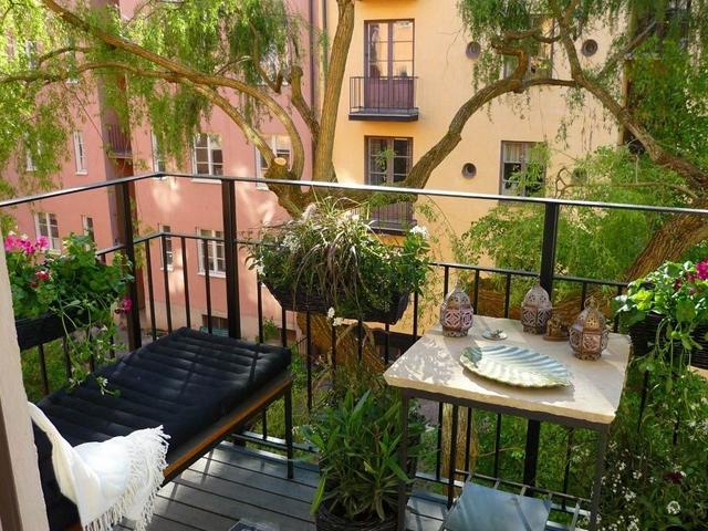 Дизайн открытого балкона в хрущевке