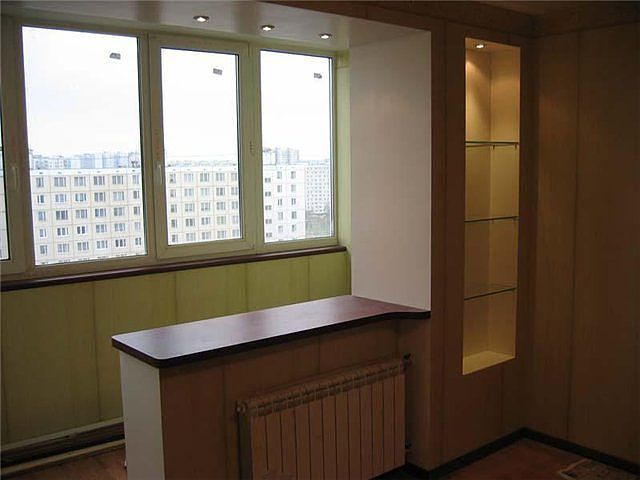 Отделка и дизайн балкон а
