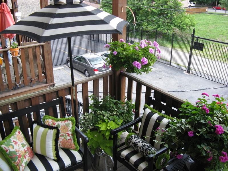 Интерьер балкона - Создание флористической зоны