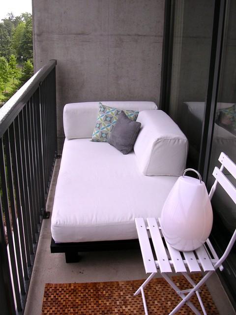 Дизайн балкона - Организация зоны отдыха