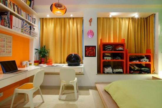 Интерьер спальни в двухкомнатной квартире