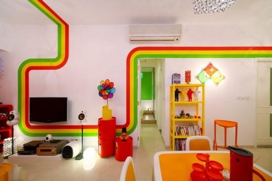 Интерьер гостиной в двухкомнатной квартире