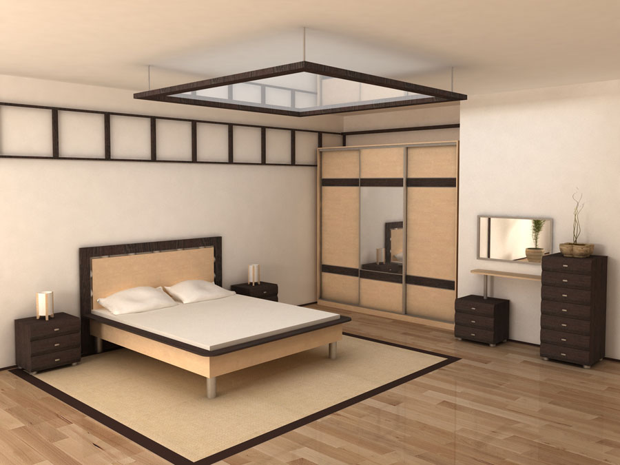 выбор мебели для спальни интерьерные штучки