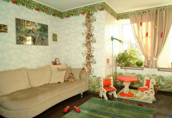 детская комната на фото