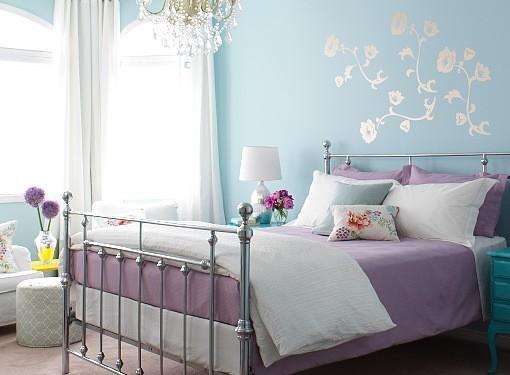 Интерьер восхитительной спальни (4)