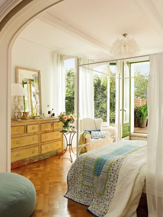 дизайн романтической спальни