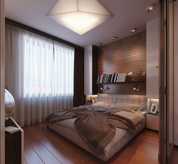 Офис в спальне фото 4