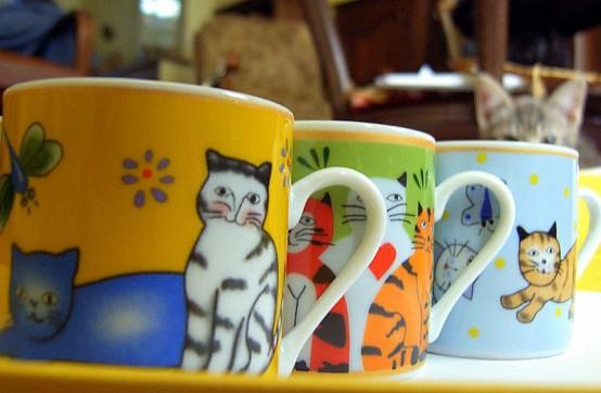 дизайн интерьера с котиками