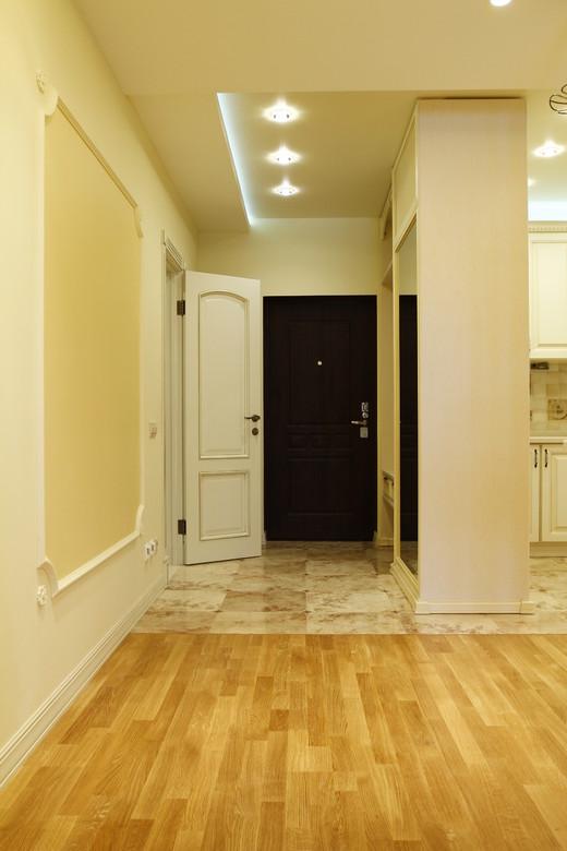 интерьер коридора в стиле ампир