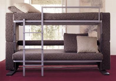 двухъярусный диван фото