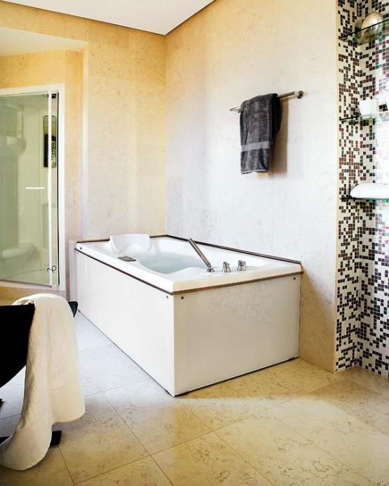 мозаичный дизайн ванной