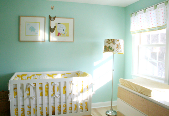 нежная детская комната фото 1