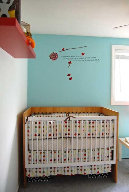 голубая комната малыша
