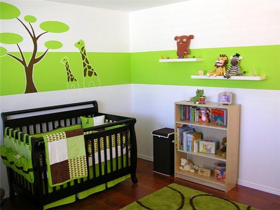 комната для младенца фото 6