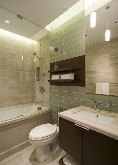 интерьер в ванной комнате фото 1