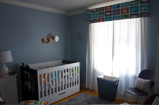 фото голубой комнаты