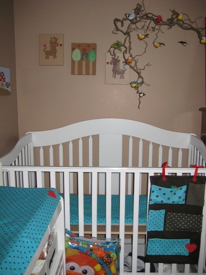 Красочная детская комната фото 1
