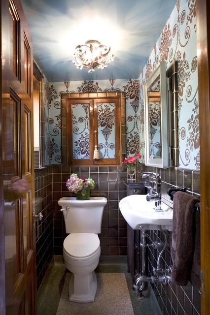коричневая ванная фото 2