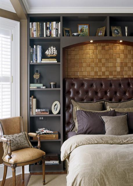 коричневая спальня фото 5
