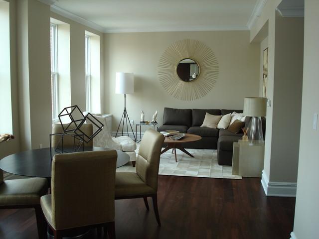 коричневая гостиная фото 5