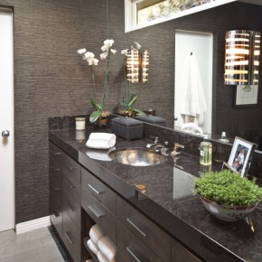 Дизайн ванной комнаты – фото 53