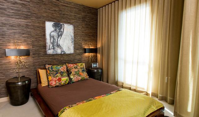Спальня холостяка в азиатском стиле (5)