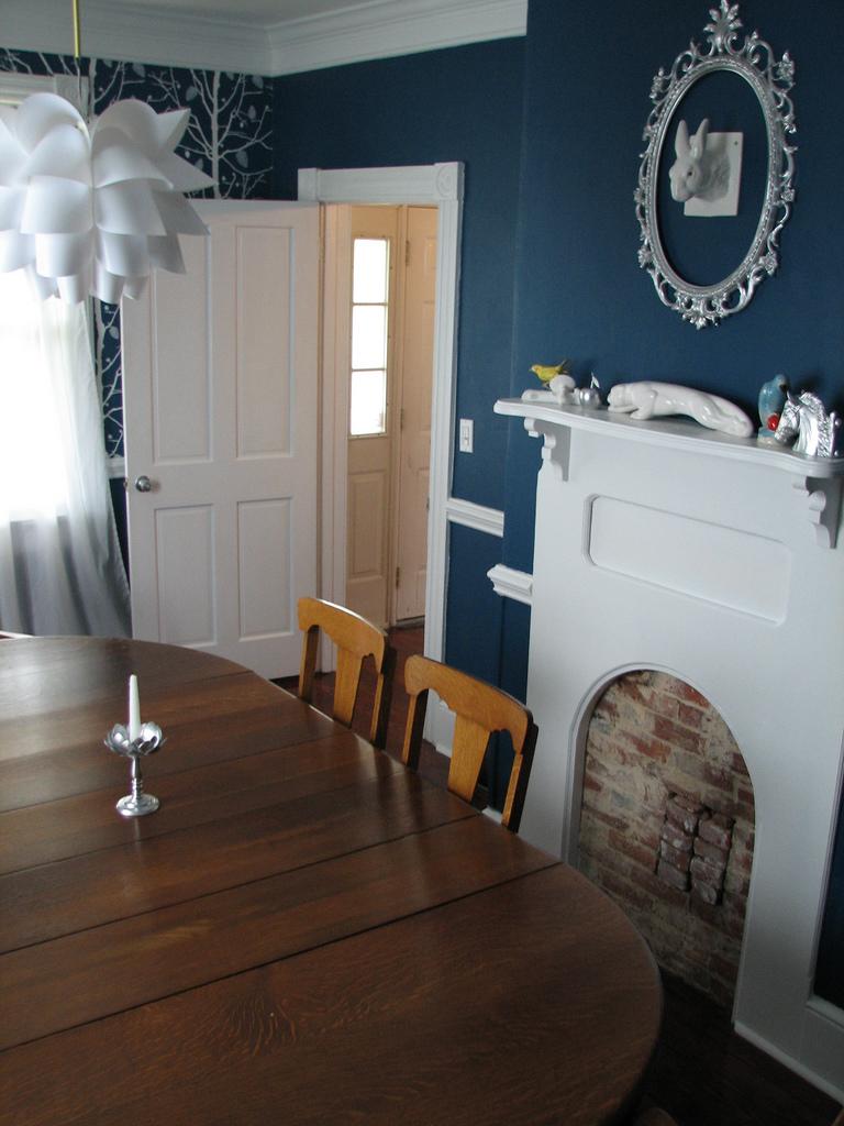 фото интерьера красивой столовой