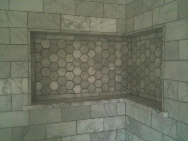 аксессуары для ванной - врезные ниши