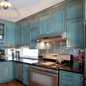 Оформление кухни — фото 364
