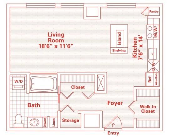 Гостиная спальня фото 3