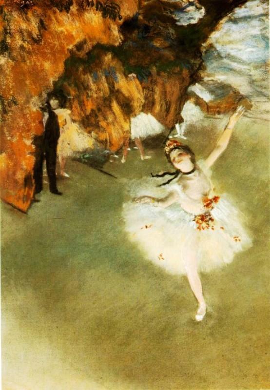 картины для интерьера «Звезда», Эдгар Дега