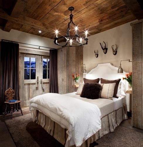 ремонт спальни в деревенском стиле фото 23