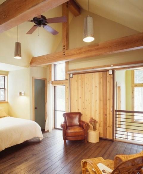 ремонт спальни в деревенском стиле фото 22