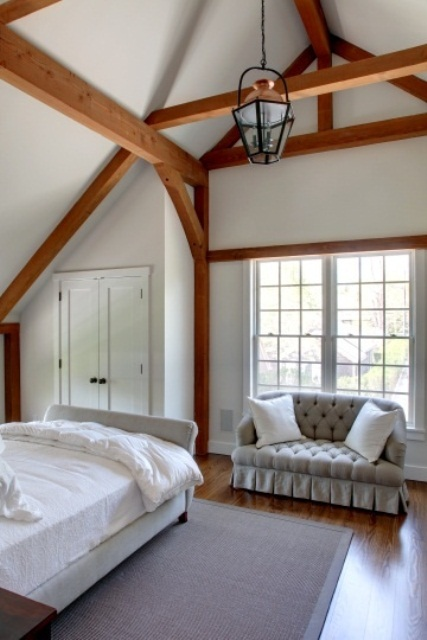 ремонт спальни в деревенском стиле фото 21
