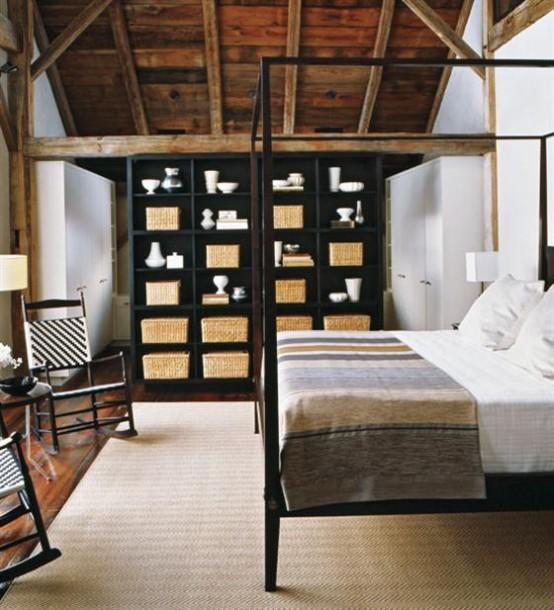 спальня в деревенском стиле фото 10