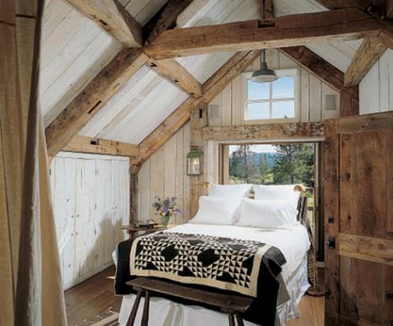 спальня в деревенском стиле фото 9