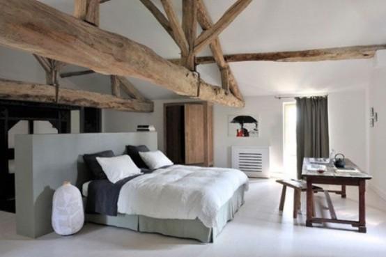спальня в деревенском стиле фото 7