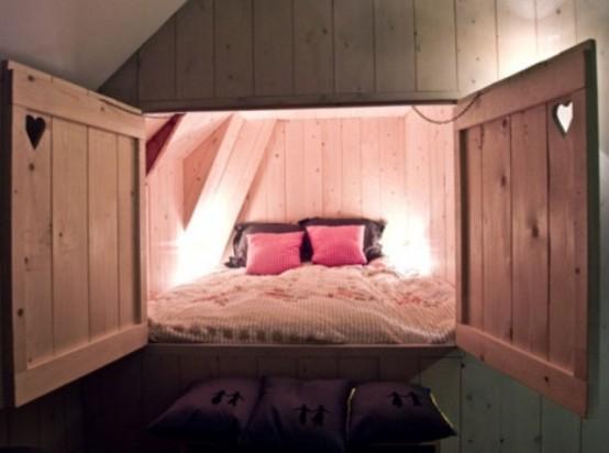 интерьер  спальни в деревенском стиле фото 6